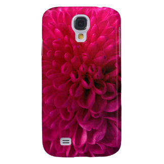 Hot pink macro flower iphone 3 cover