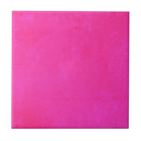 Hot Pink Magic Small Square Tile