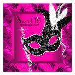 Hot Pink Masquerade Party