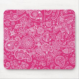 Hot Pink Mousepads