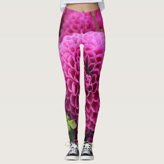 hot pink mumps leggings