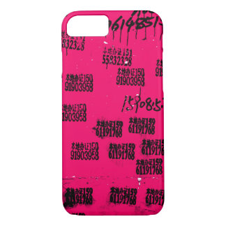 Hot Pink One-of-a-kind Exotic Hip iPhone 8/7 Case
