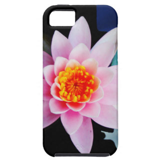 Hot Pink & orange lotus water lily flower iPhone 5 Covers