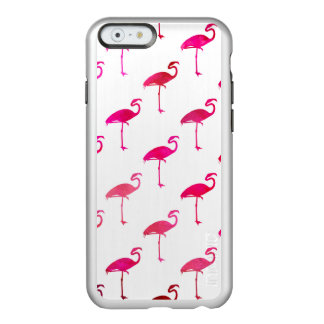 Hot Pink Pink Purple Flamingo Watercolor Incipio Feather® Shine iPhone 6 Case