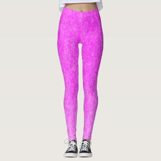 Hot Pink Plush Leggings