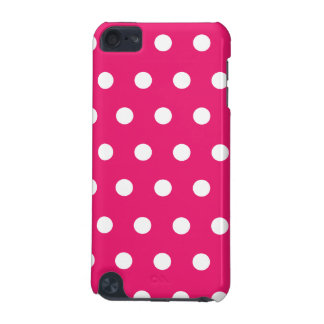 Hot Pink Polka Dot iPod Touch (5th Generation) Cases