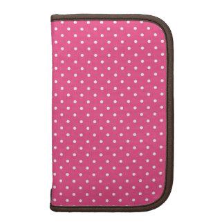 Hot Pink Polka Dot Organizers
