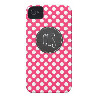 Hot Pink Polka Dots; Vintage Chalkboard iPhone 4 Covers