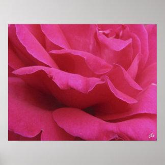hot pink print