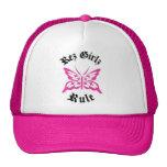 hot pink rez girlz rule hat