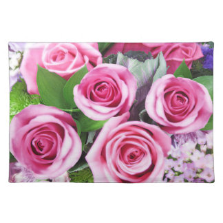 Hot Pink Roses Placemat