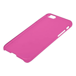 Hot Pink Solid Color Simple Plain iPhone 7 Case