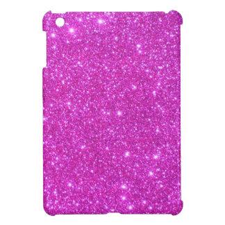 Hot Pink Sparkle Glittery CricketDiane Art iPad Mini Case