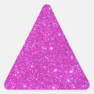 Hot Pink Sparkle Glittery CricketDiane Art Sticker