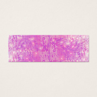 Hot Pink Sparkly Sequins Business Card
