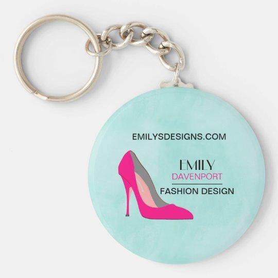 Hot Pink Stiletto High Heel Shoe Chic Business