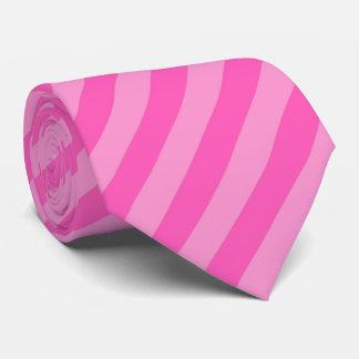 Hot Pink Stripes Tie