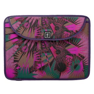 Hot Pink Supernova MacBook Cover