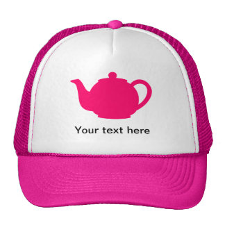 Hot Pink Teapot Cap