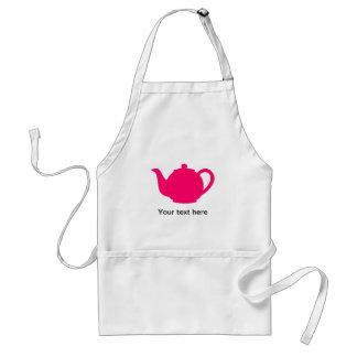 Hot Pink Teapot Standard Apron
