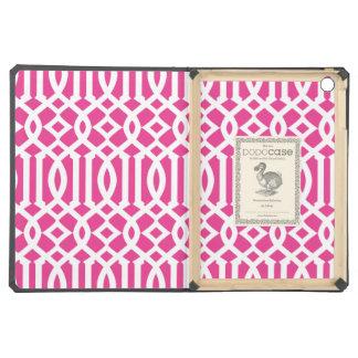 Hot Pink Trellis | iPad Dodo Case iPad Air Cases