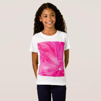 Hot Pink Watercolour Break T-Shirt