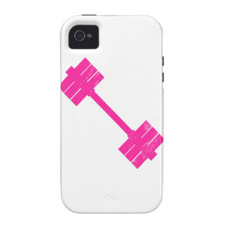 Hot Pink Weight iPhone 4 Cases
