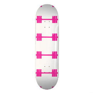 Hot Pink Weight Custom Skateboard