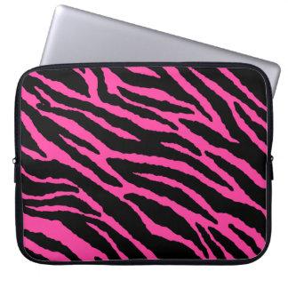 Hot Pink Zebra Laptop Sleeve