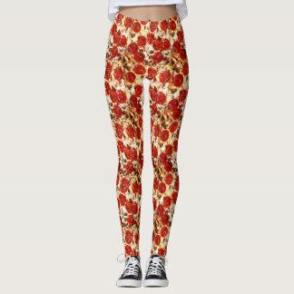 Hot Pizza Meme Print Leggings