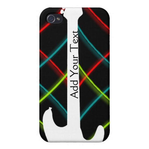 Hot Pop Color Guitar Business iPhone 4/4S Cases