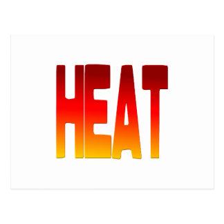 hot postcard