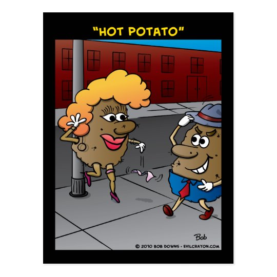 """Hot Potato"" Postcard"