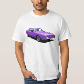 Hot Purple AvanTee Classic American Car T-Shirt