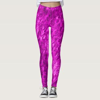 Hot Purple Love Leggings