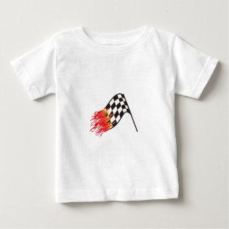 Hot Race Flag Baby T-Shirt