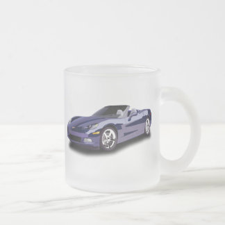 Hot Racing Car Frosted Glass Mug