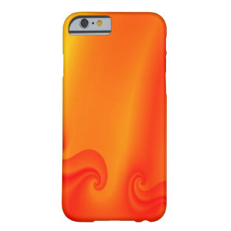 Hot Red Curls Flames iPhone Case