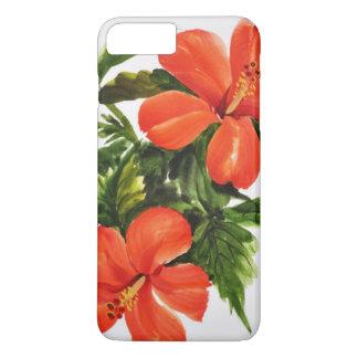 Hot Red Hibiscus iPhone 8 Plus/7 Plus Case