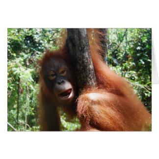 Hot Redhead a real animal Card
