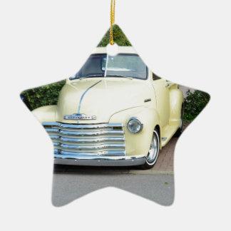 Hot Rod Chevrolet Pickup. Christmas Ornament