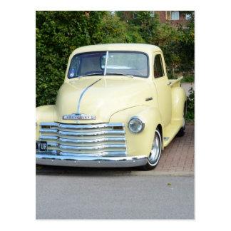 Hot Rod Chevrolet Pickup. Postcard