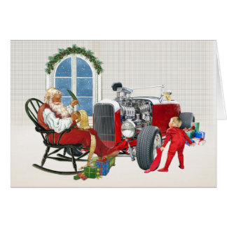 Hot Rod Christmas Cards 7