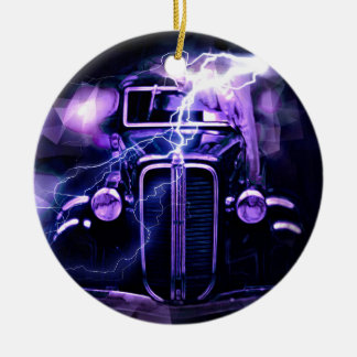 Hot Rod Christmas Ornament