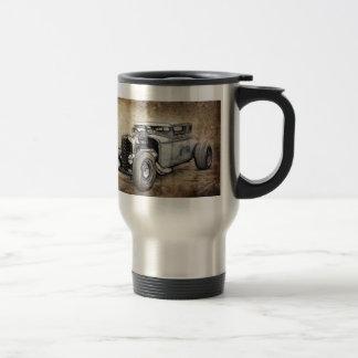 Hot Rod Coupe Coffee Mugs