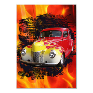 Hot Rod Deluxe Birthday Card