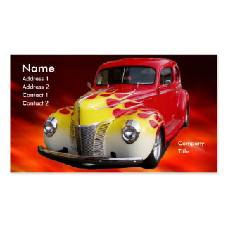 Hot Rod Deluxe Business Card Template