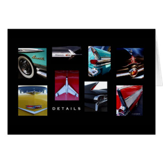 Hot Rod Details Greeting Card