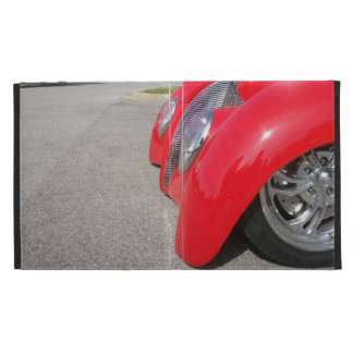 Hot Rod Front End iPad Folio Cover