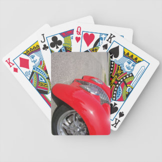 Hot Rod Front End Playing Cards